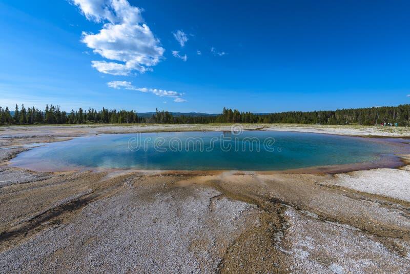Opal Pool Yellowstone imagens de stock royalty free