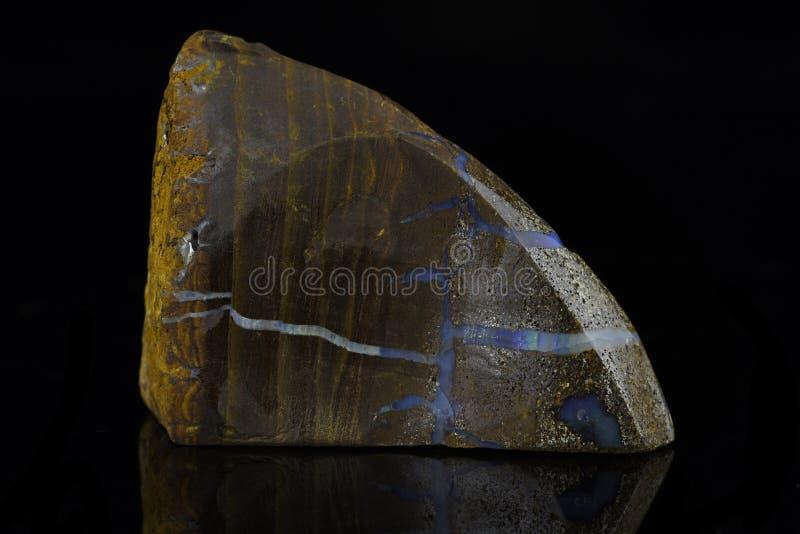 Opala de Boulder imagem de stock