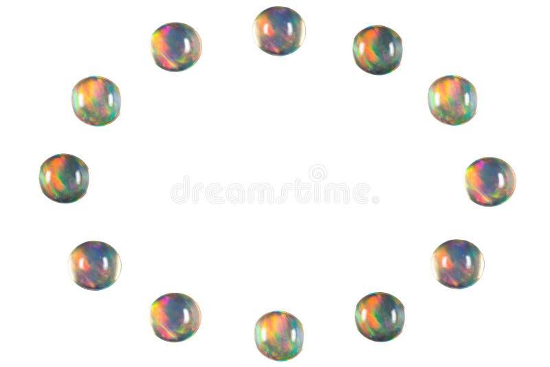 Opala de fogo 3 foto de stock royalty free