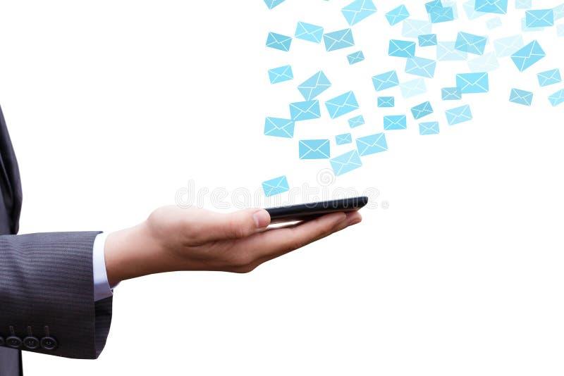 Opancerzanie emaile z out dzwonią obrazy royalty free