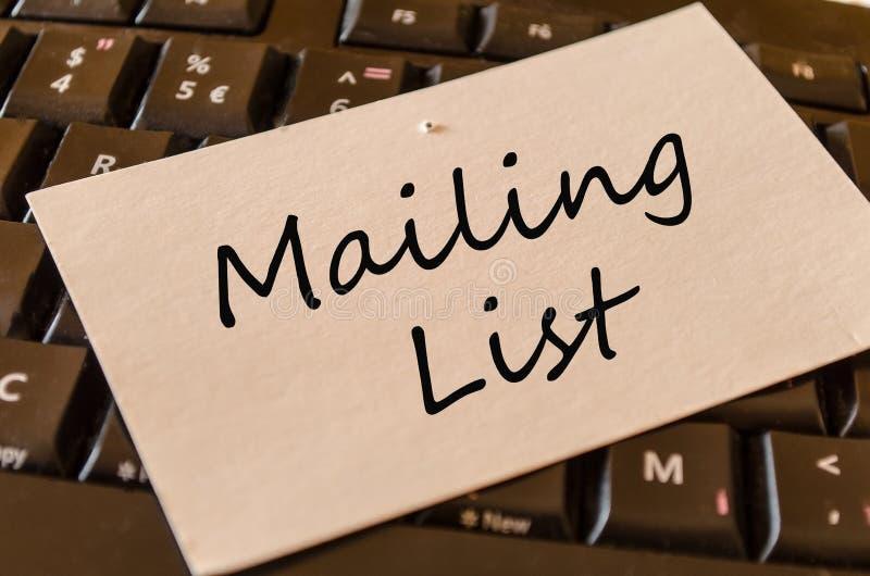 Opancerzanie listy pojęcie na klawiaturze fotografia royalty free