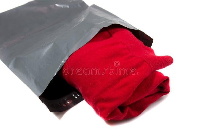 Opancerzanie torba na białym tle zdjęcie stock