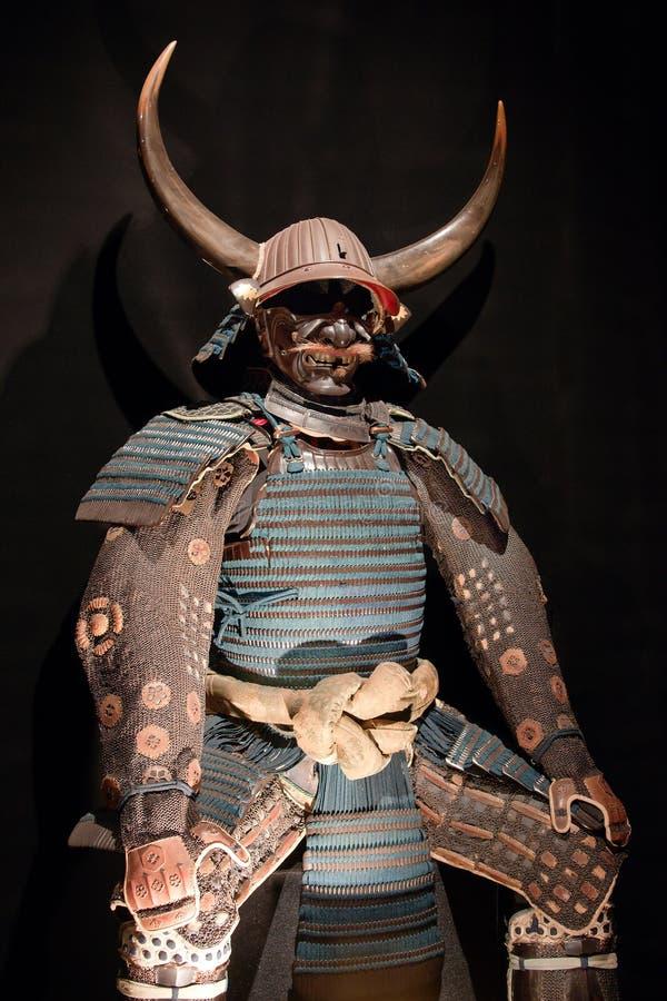 opancerzenie samurajowie zdjęcia stock