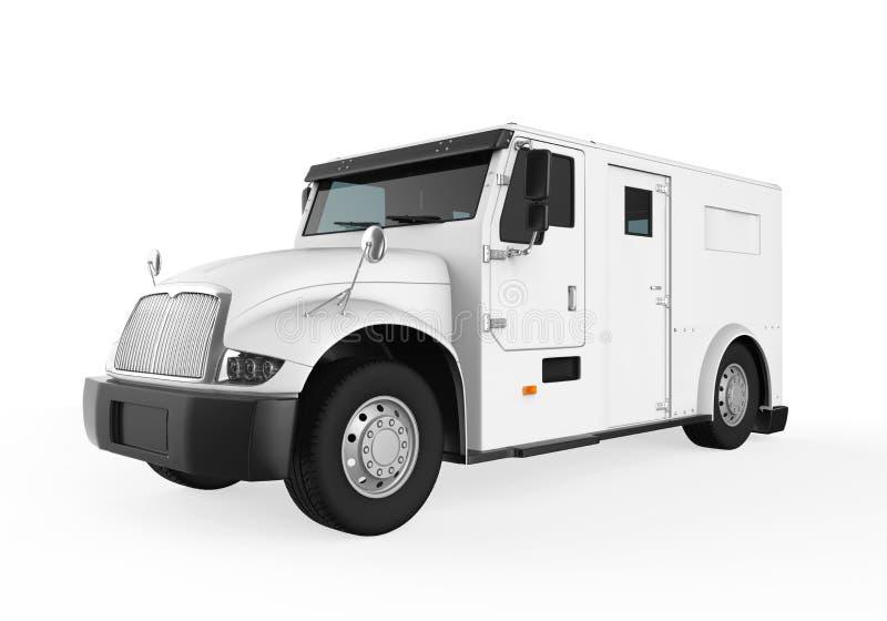 Opancerzona ciężarówka ilustracja wektor
