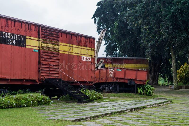 Opancerzonego pociągu pomnik, Santa Clara, Kuba zdjęcie royalty free