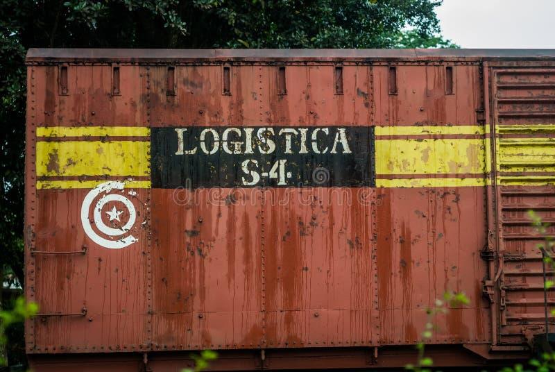 Opancerzonego pociągu pomnik, Santa Clara, Kuba obraz royalty free