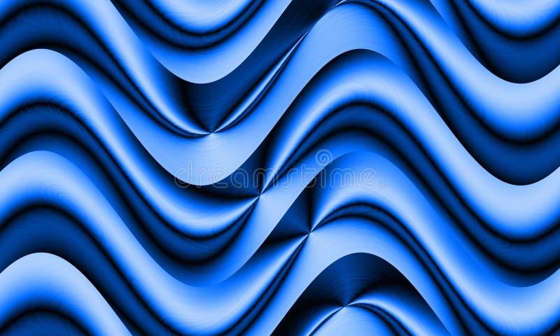 OPart seamless waves texture lizenzfreie abbildung
