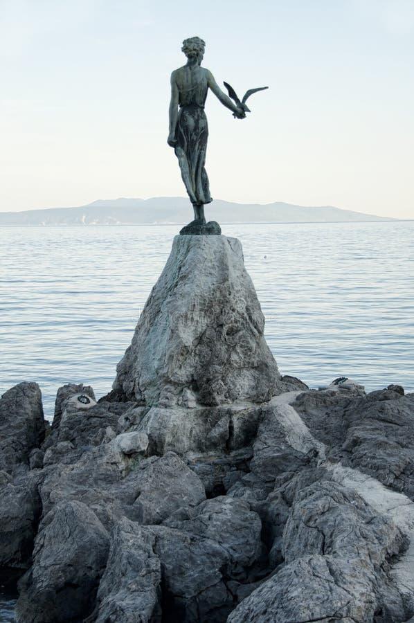 Opatija,克罗地亚 免版税图库摄影