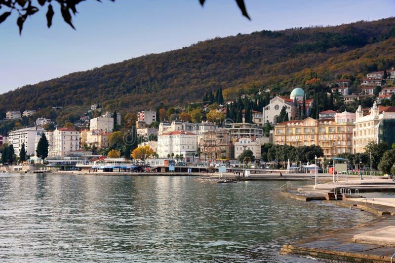 Opatija, Croatia imagens de stock