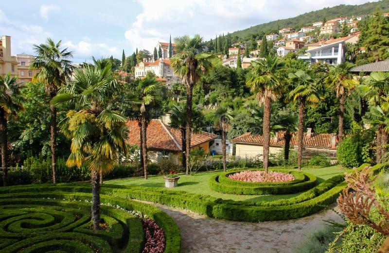 Opatija Croatie photos libres de droits