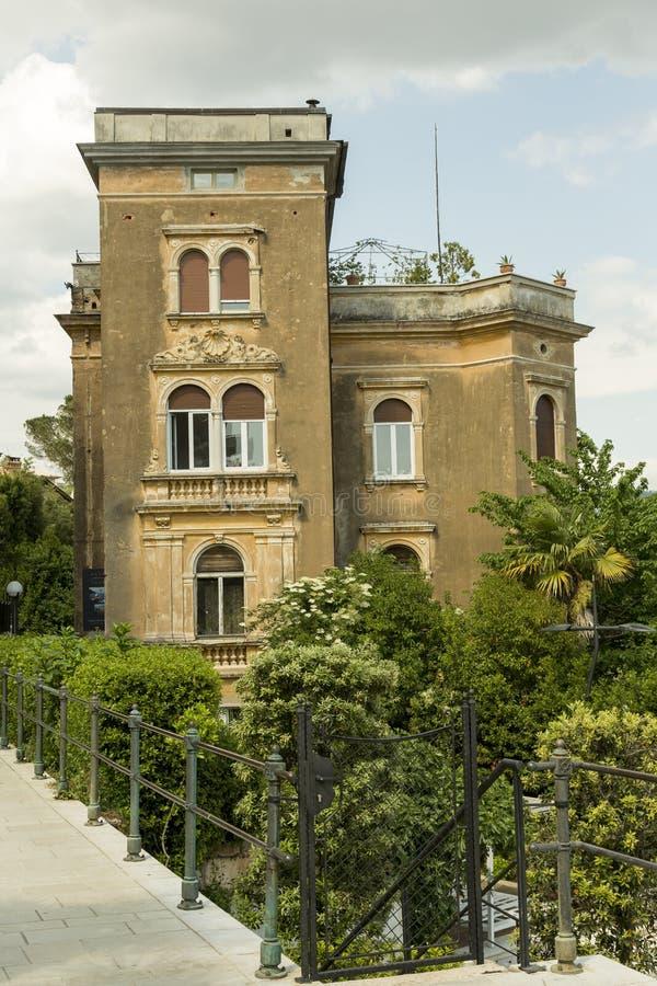 Opatija sur la Mer Adriatique en Croatie photographie stock libre de droits