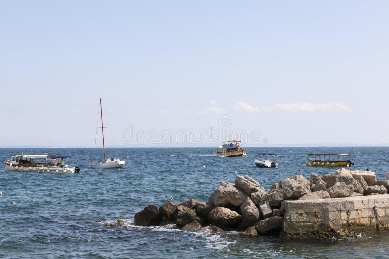 Opatija sur la Mer Adriatique en Croatie photos libres de droits