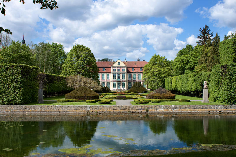 Opatow palace in Gdansk Oliwa. Opatow palace and park in Gdansk Oliwa, Poland stock photos