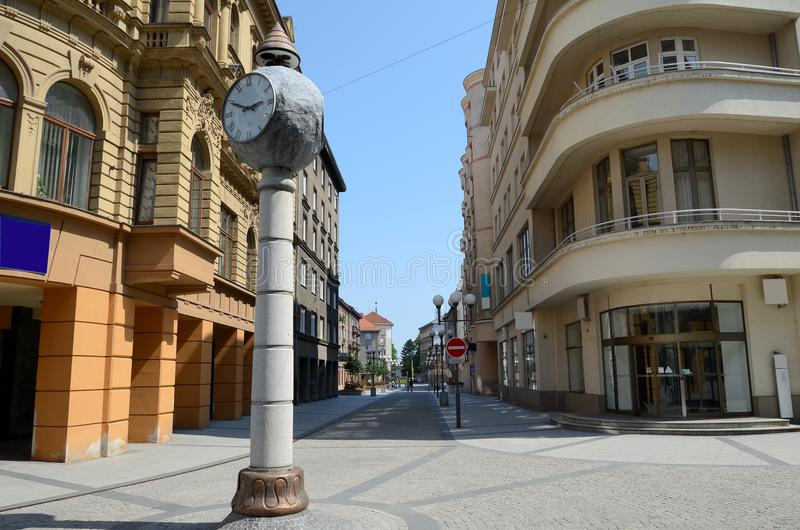 Opava dans la République Tchèque photos libres de droits