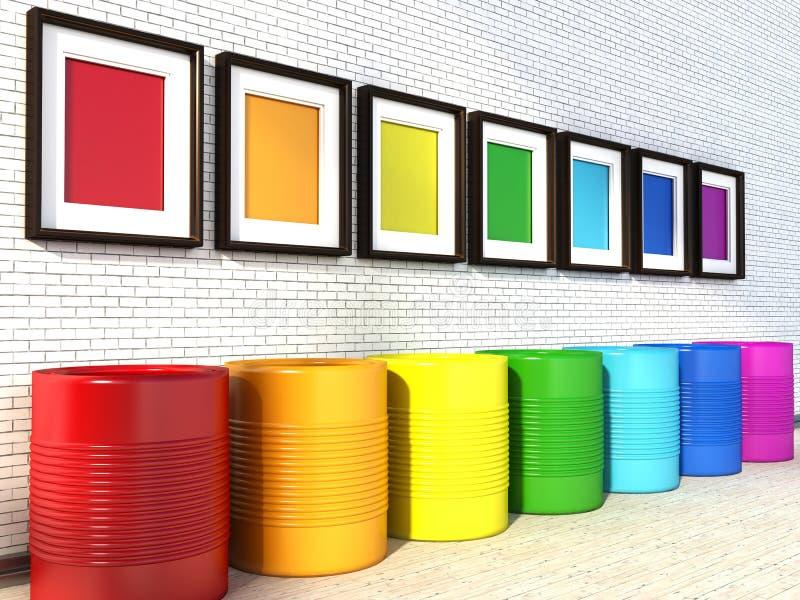 Colores para pintar stunning pintar las paredes de la - Paleta de colores para pintar paredes ...
