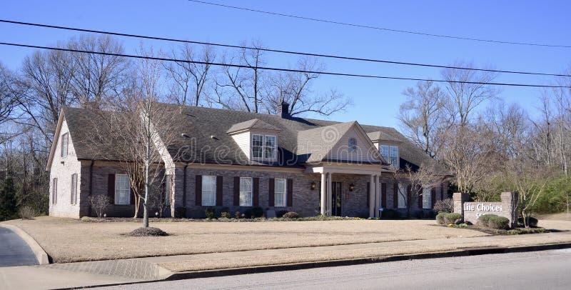 Opciones de la vida, Memphis, TN foto de archivo libre de regalías