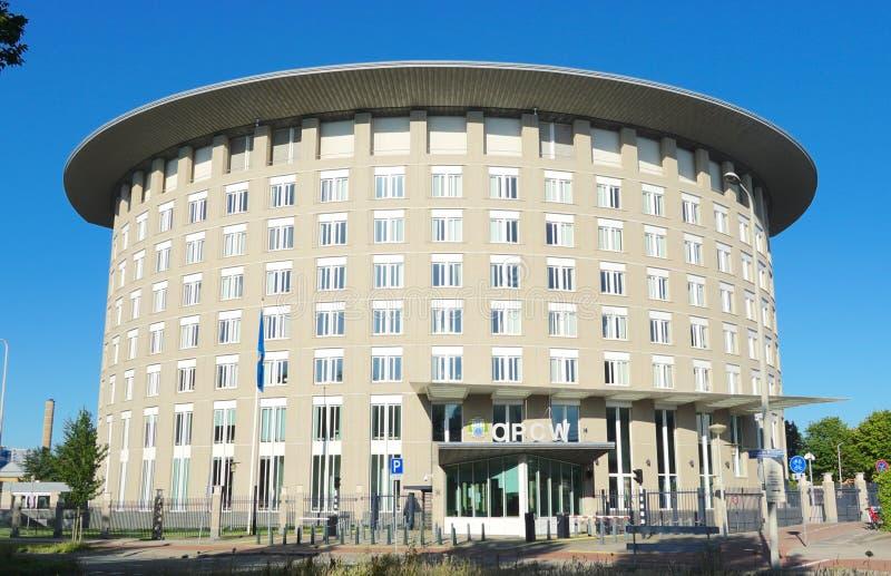 OPCW总部在海牙,荷兰 免版税库存照片