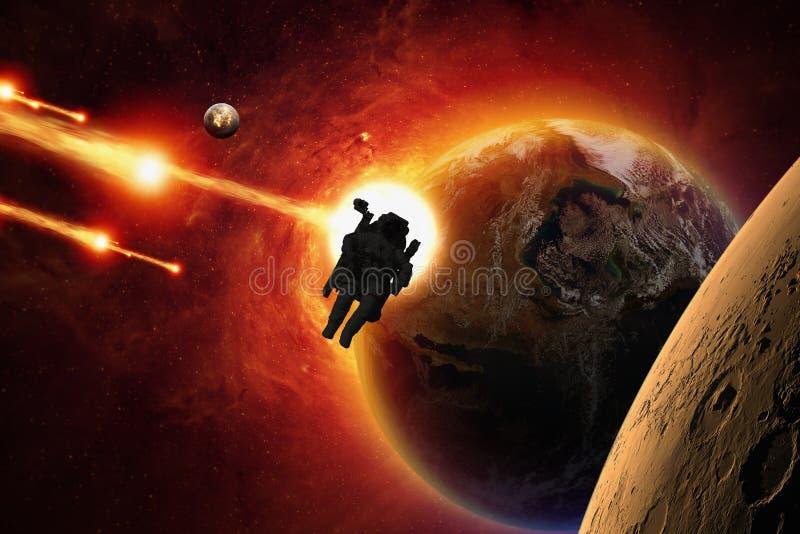 Opdracht aan Mars stock foto's