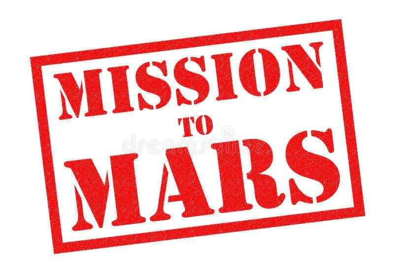 Opdracht aan Mars vector illustratie