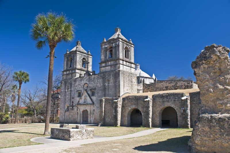 Opdracht Concepción San Antonio Texas royalty-vrije stock fotografie