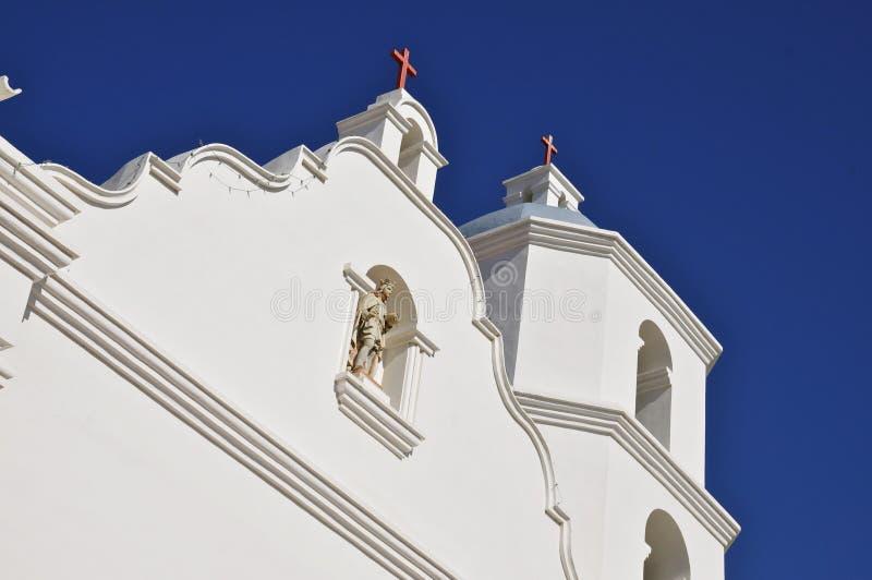 Opdracht San Luis Rey Church stock fotografie