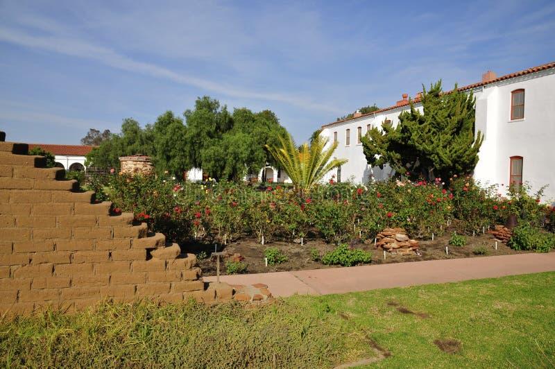 Opdracht San Luis Rey Garden royalty-vrije stock foto's