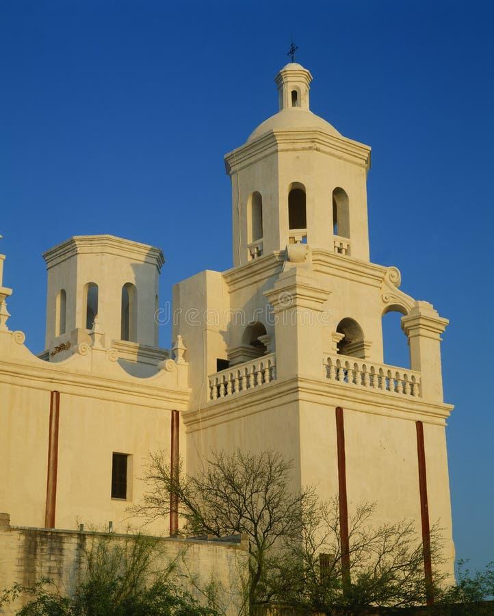 Opdracht San Xavier del Bac stock afbeelding