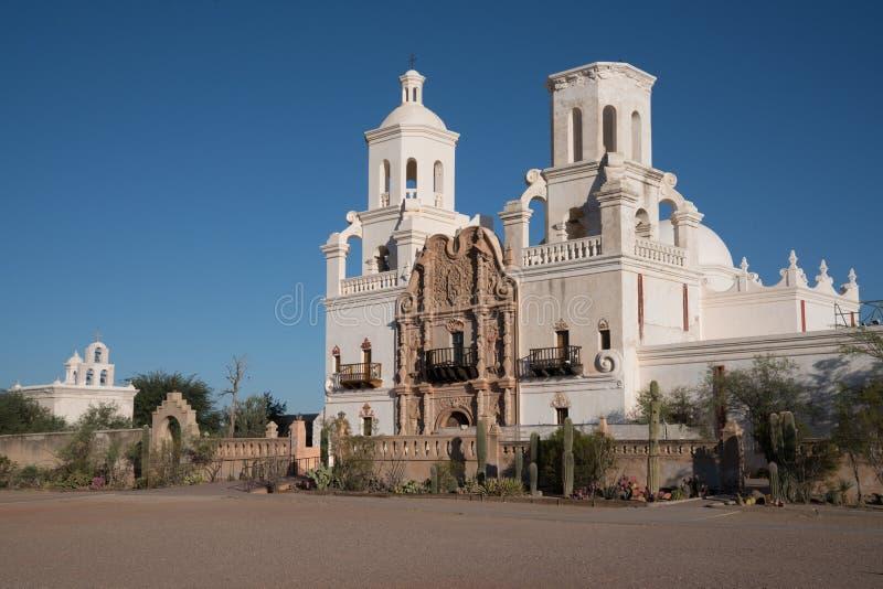 Opdracht San Xavier del Bac Tucson, Arizona royalty-vrije stock afbeeldingen