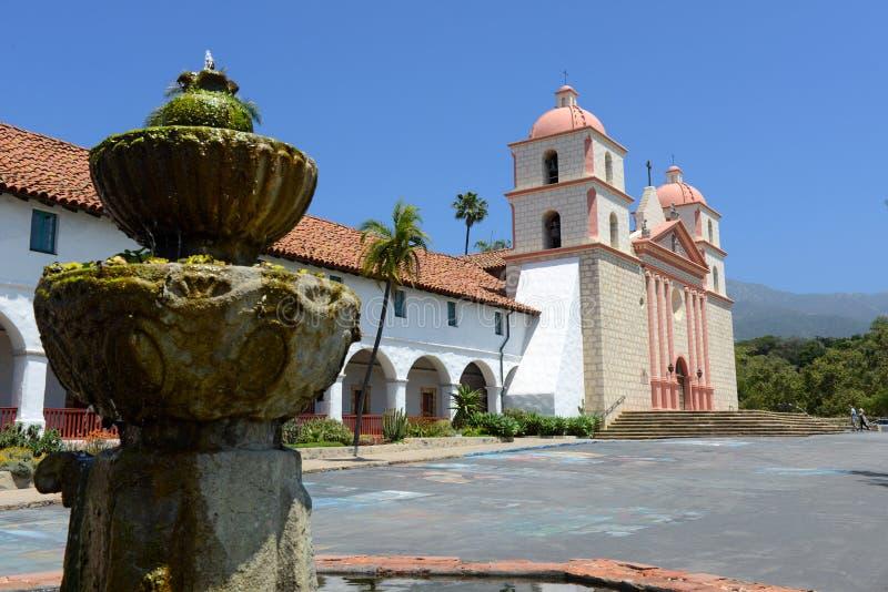 Opdracht in Santa Barbara, Californië op een zonnige dag stock afbeeldingen