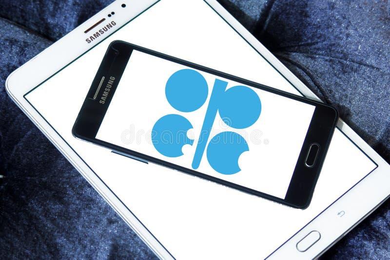 OPEC organization logo royalty free stock photos