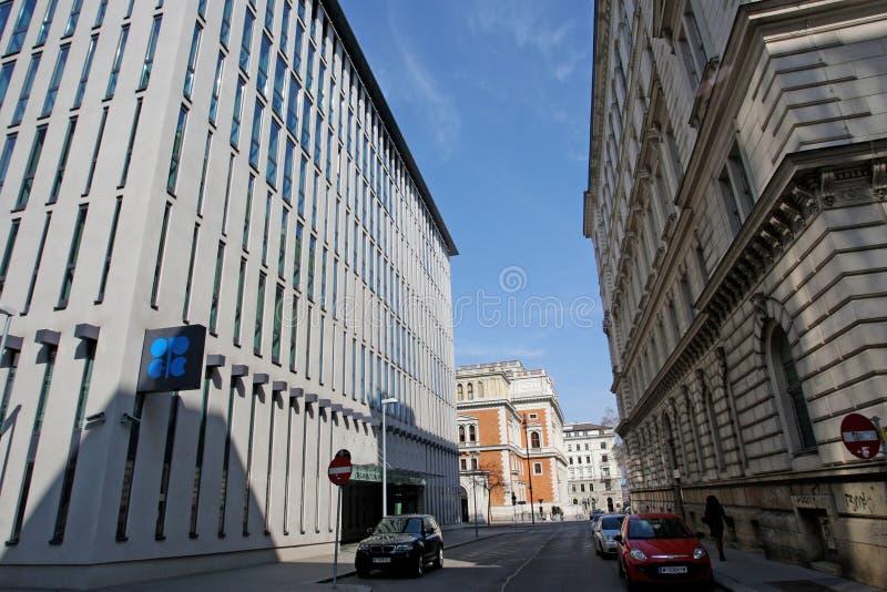 OPEC, Vienna headquarter royalty free stock image