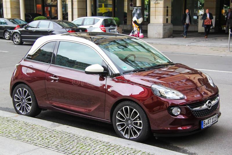 Opel Adam στοκ εικόνες