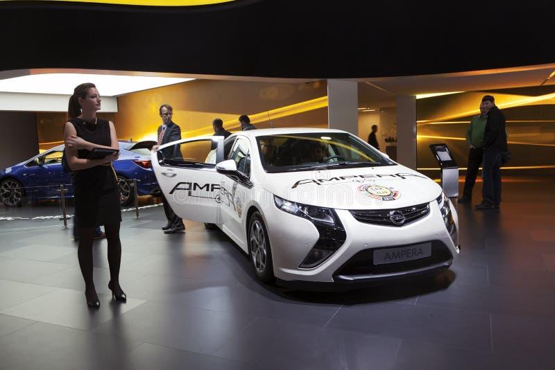 Opel Ampera royalty free stock photos