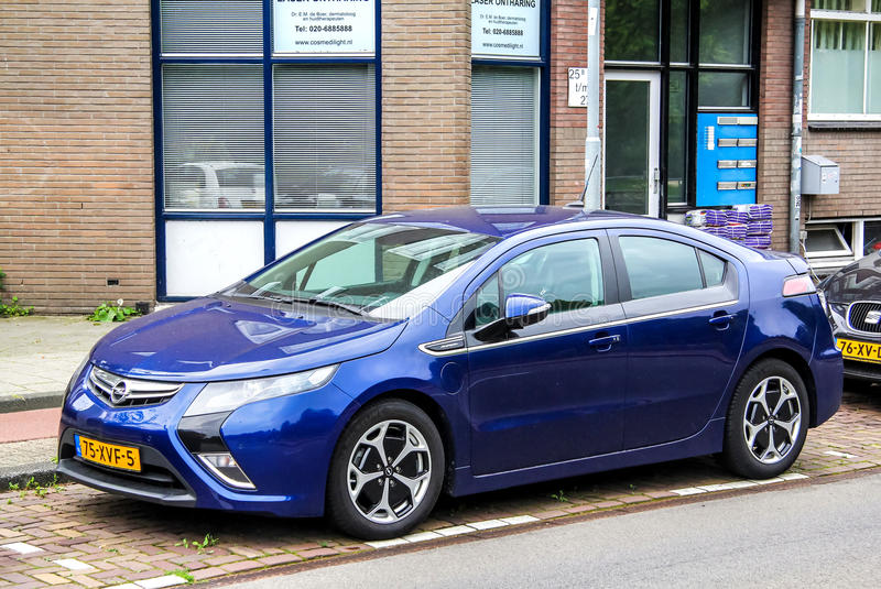 Opel Ampera royalty free stock photo