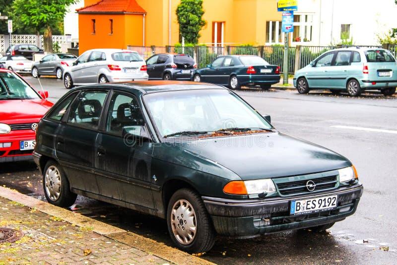 Opel Astra royalty-vrije stock afbeelding