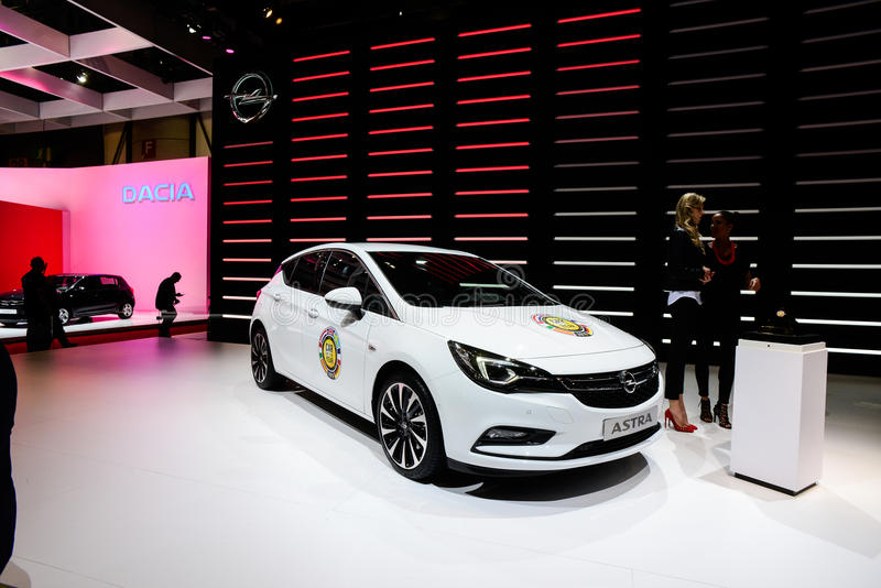 Opel Astra royalty-vrije stock foto