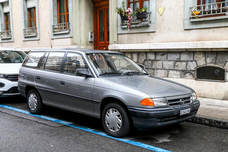 Opel Astra stock foto