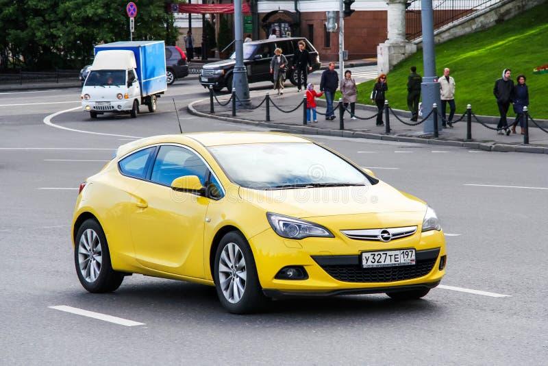 Opel Astra GTC royalty-vrije stock foto's