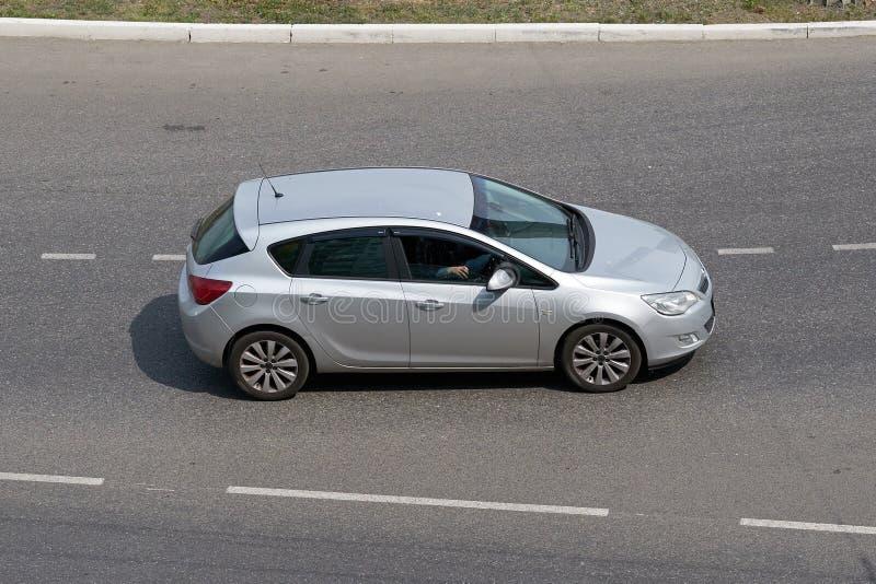 Opel Astra J stock foto's