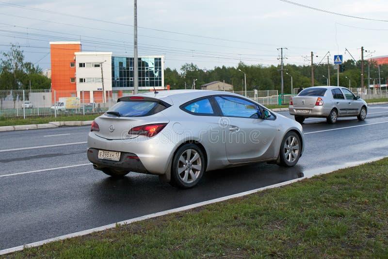 Opel Astra stock afbeeldingen