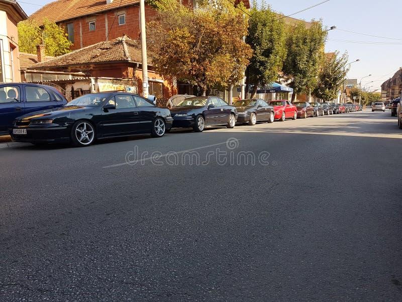 Opel Calibra в Сербии стоковые фото