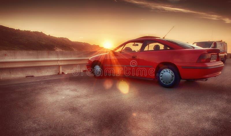 Opel-calibrarood royalty-vrije stock afbeelding