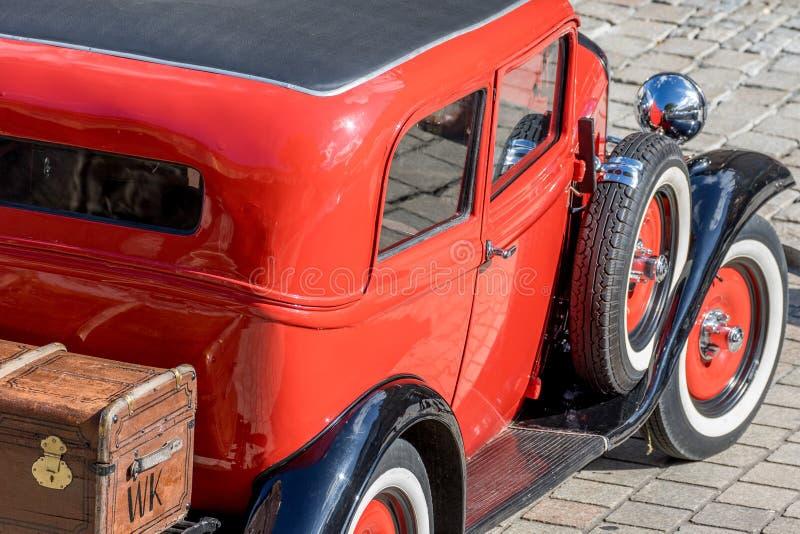 Opel - convertible desportivo clássico dos anos 30 fotografia de stock royalty free