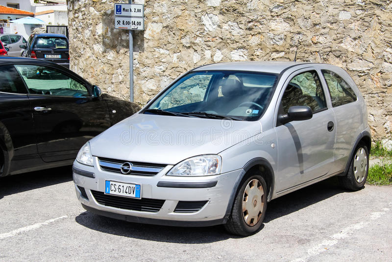Opel Corsa στοκ εικόνες