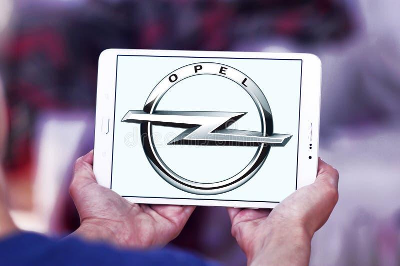 Opel-embleem stock afbeelding