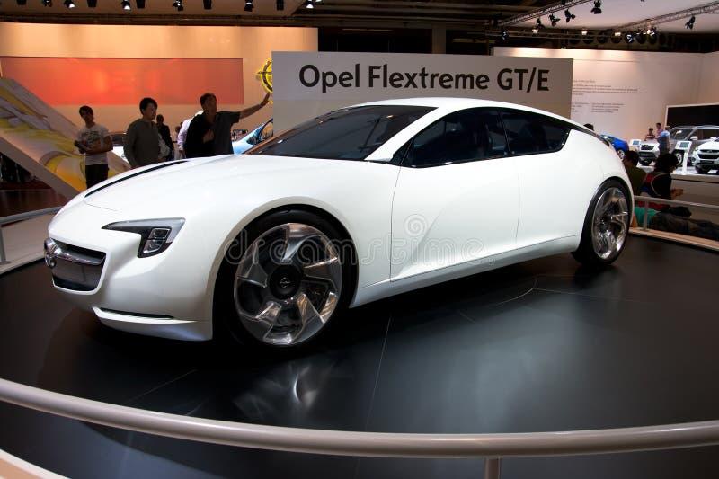 Opel Flextreme GT/E fotografia de stock