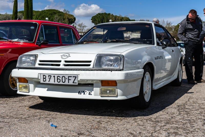 Opel Manta Luxus Redaktionell Arkivbild Bild Av Tappning