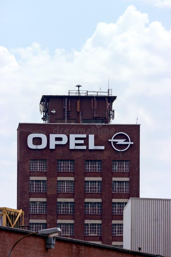 Opel-Toren stock foto