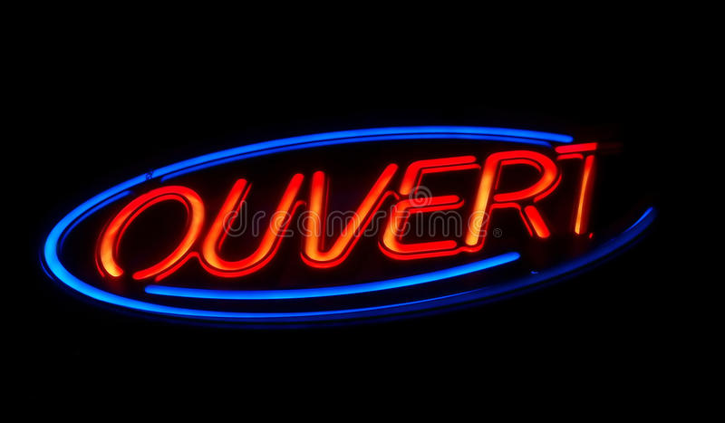 Download Open stock photo. Image of sign, background, night, dark - 13303996