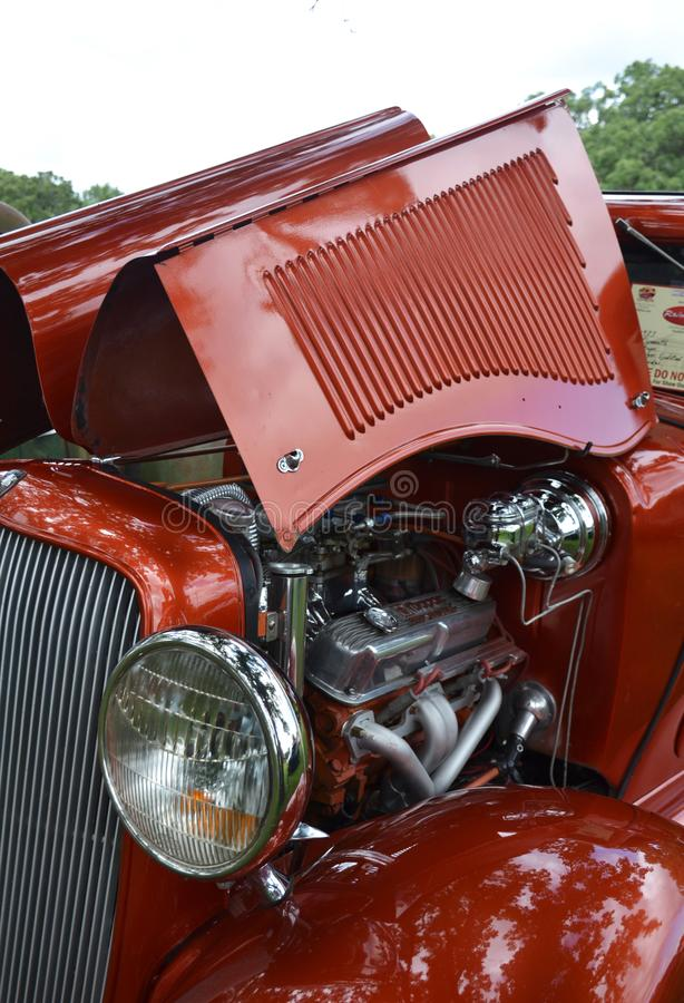 Open-air Exhibition Of Vintage Cars Editorial Photo - Image of ...